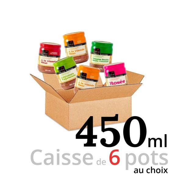 Jardins Saint-Antoine - Caisse de 6 pots - 450 ml