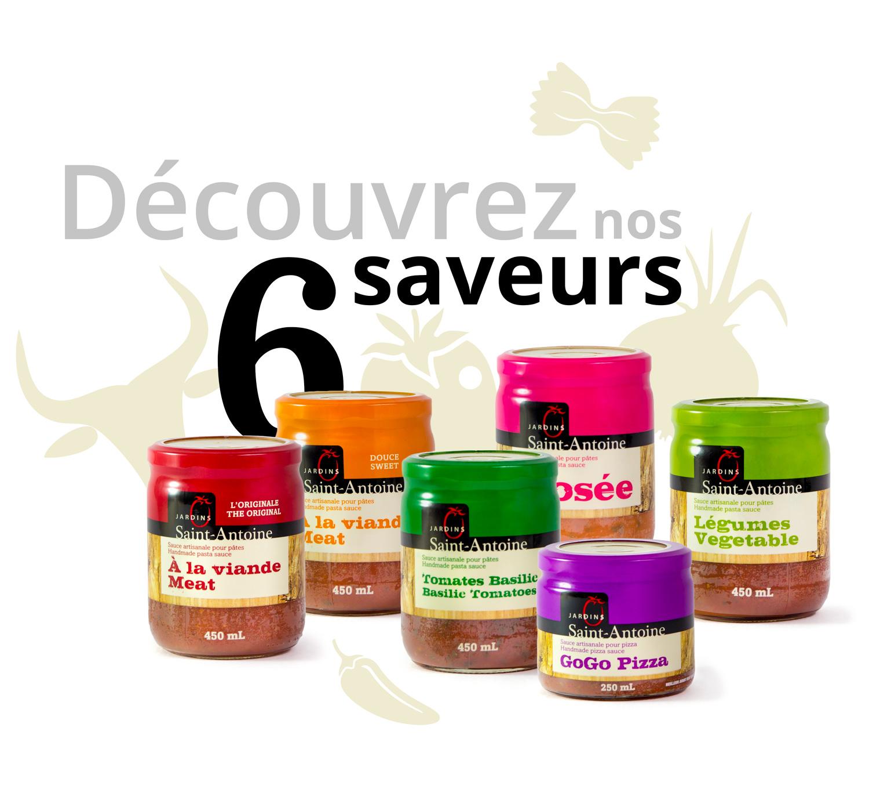 Jardins Saint-Antoine - 6 saveurs