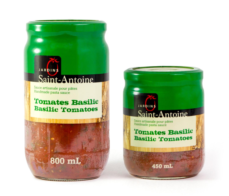 Jardins Saint-Antoine - Tomates Basilic