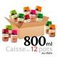 Jardins Saint-Antoine - Caisse de 12 pots - 800 ml